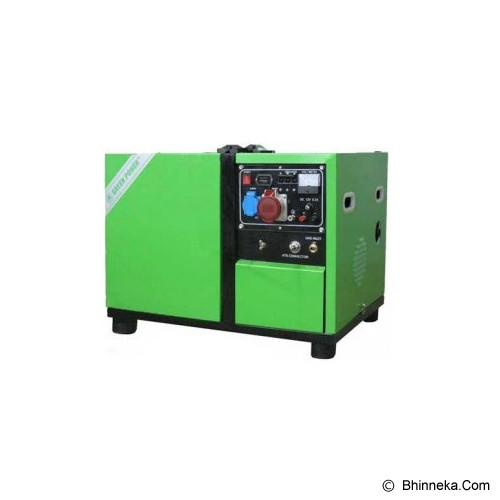 GREENPOWER Low-Noise LPG/NG Genset [CC5000DA-LPG/NG] - Genset Gas